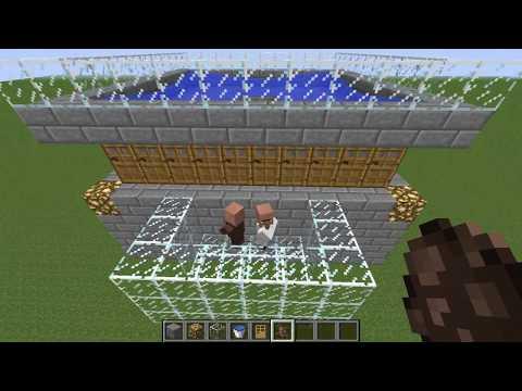 Cómo Hacer Un Generador De Hierro En Minecraft