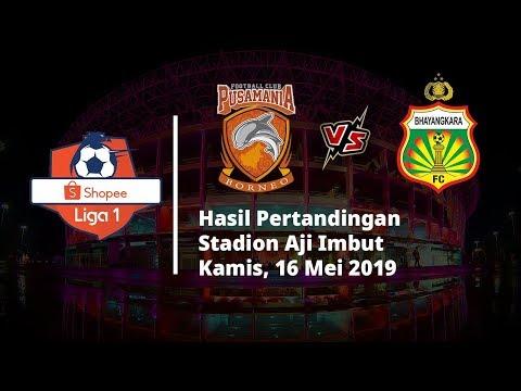 Hasil Pertandingan Liga 1 2019, Bhayangkara FC Nyaris Telan Kekalahan saat Bertandang ke Borneo FC