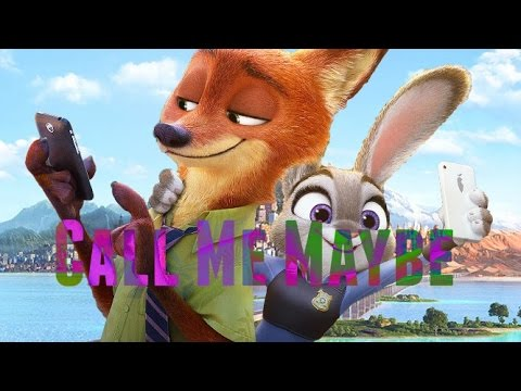 Judy x Nick (Zootopia) - Call Me Maybe
