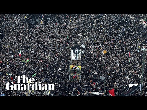 Massive crowds attend funeral processions as Suleimani's body returned to Iran