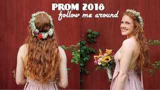 Senior PROM 2018 VLOG // follow me around