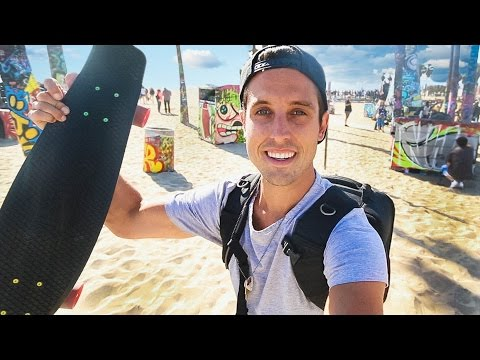 Skateboarding The California Coast