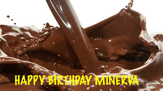 Minerva  Chocolate - Happy Birthday