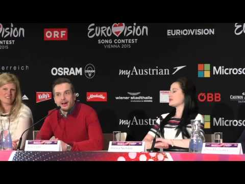 Eurovision Press Conference: United Kingdom Electro Velvet | wiwibloggs