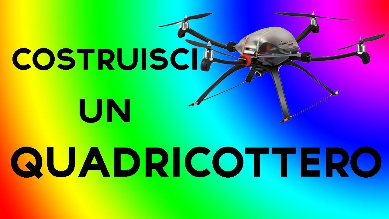 Come costruire un quadricottero basi 2 youtube for Come costruire un cabana