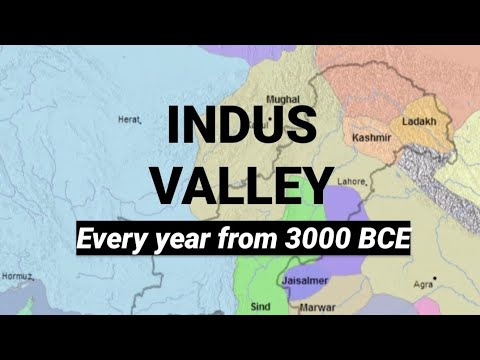 The History of Ancient Pakistan, Afghanistan & Iran: Every Year From 3000 BC