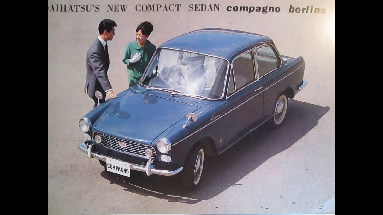 1964 daihatsu compagno berlina car pinterest daihatsu vanachro Gallery