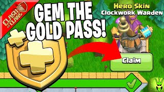 GEMMING TO THE NEW CLOCKWORK WARDEN! - Clash of Clans