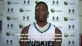 Dakarai Allen '13, Under Armour Holiday Classic MVP, 12/29/12