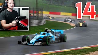F1 2020 My Team Career - Part 14 - WET RACE AT SPA