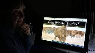 Testimonial from Wildlife Artist Kathy Winkler