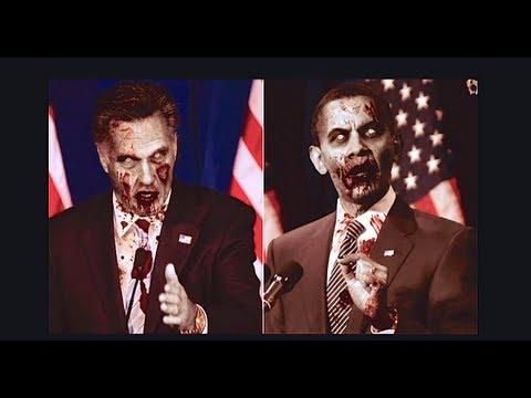 "Final ""Presidential debate"" 2012 ZOMBIE VERSION(Funny)"