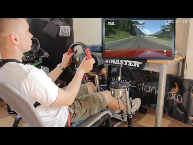 WheelStandPro with Thrustmaster T150 + T3PA Pro Pedals & TH8A Shifter [DriveClub & Project CARS]