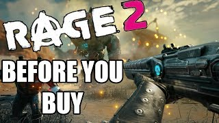 RAGE 2 - 15 Things You Need To Know Before You Buy