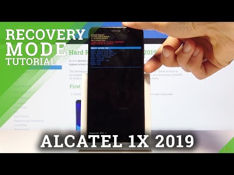 How To Enter Recovery Mode In ALCATEL 1X 2019 – Use Recovery Mode