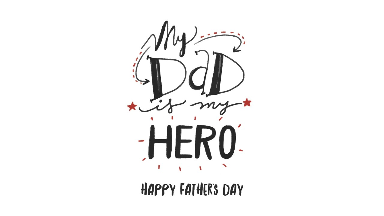 happy fathers day gif like animation