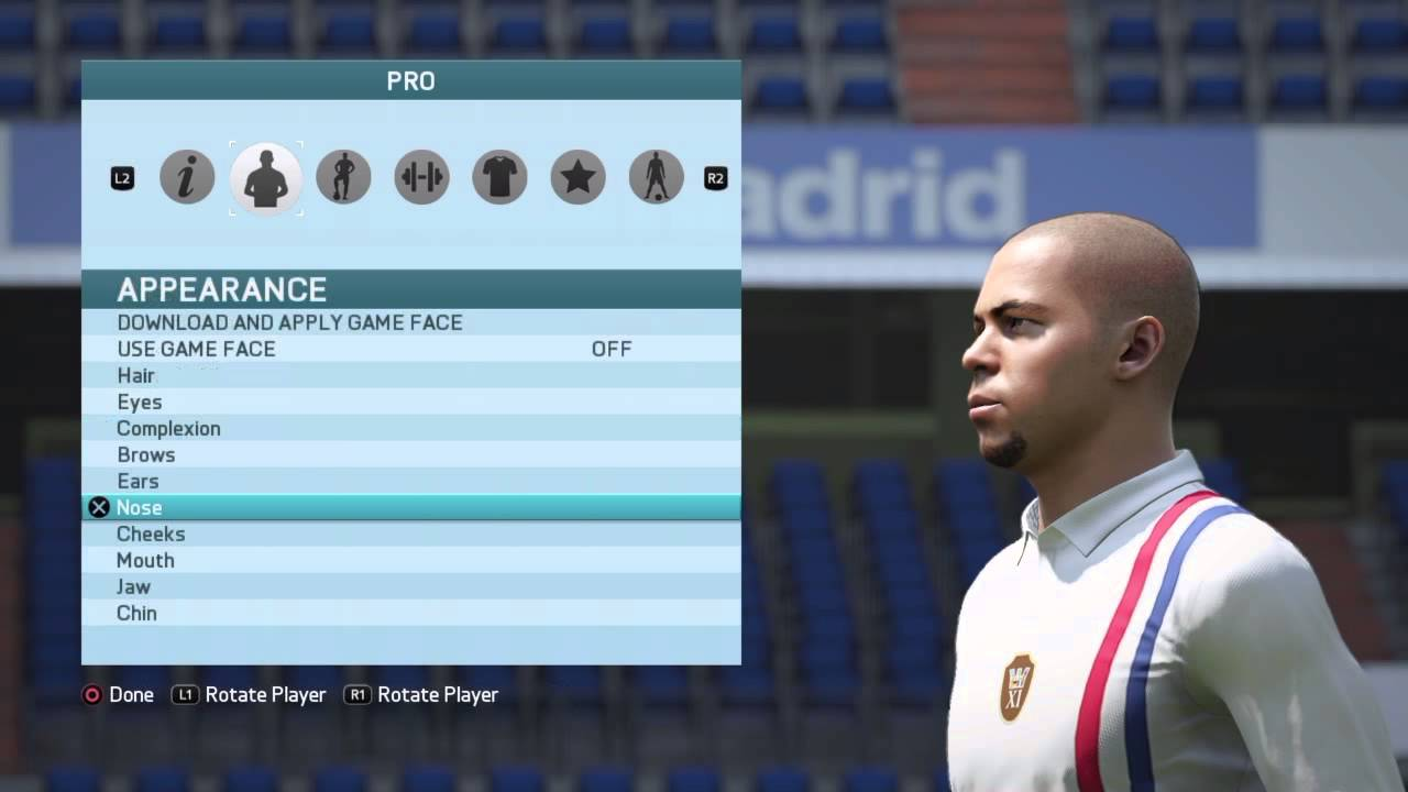 How to make your fifa 18 pro look like ronaldo field dimensions for fifa soccer
