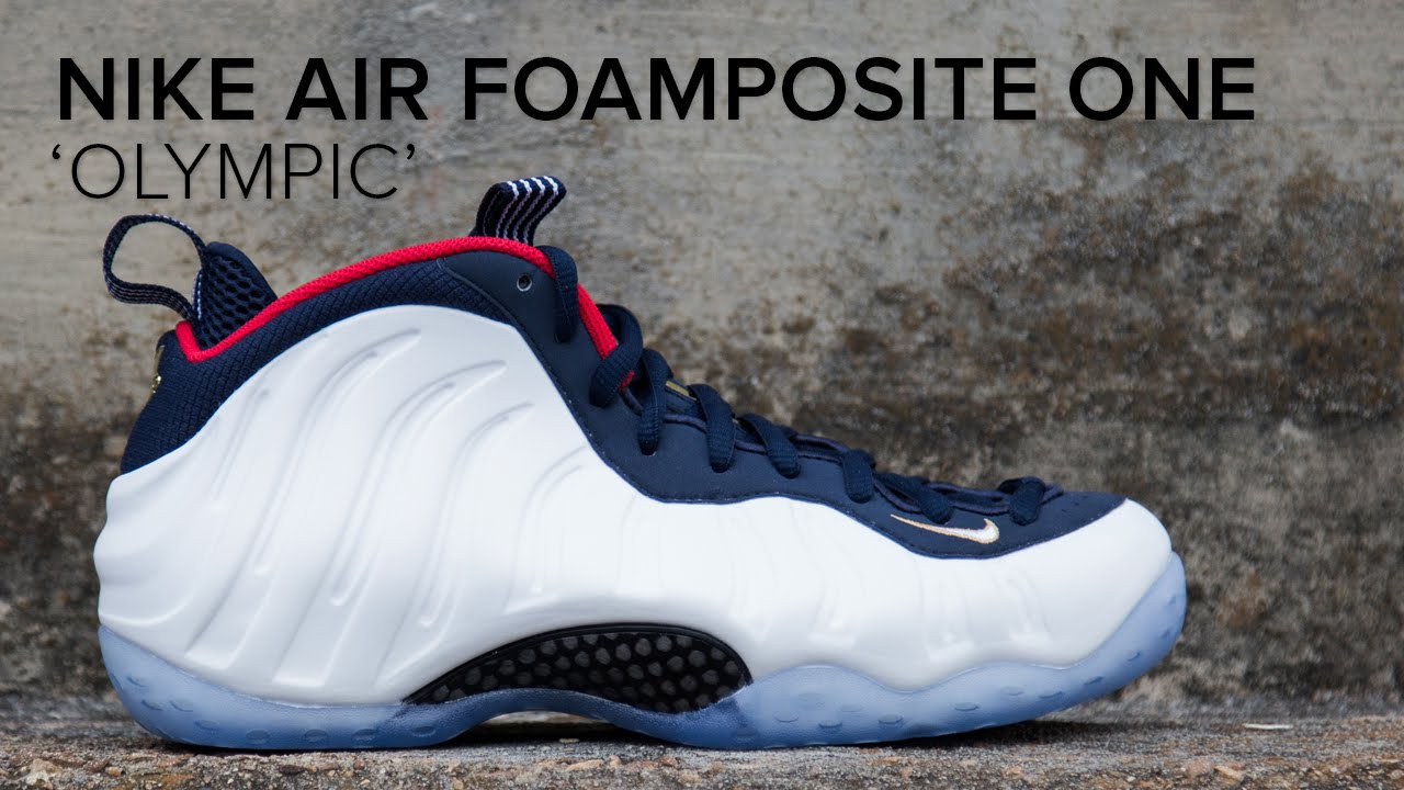 new concept 98d3f 43283 Nike Air Foamposite One 'Olympic' Quick On Feet Look