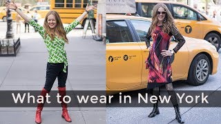 New York fashion for women over 40 - what to wear in New York