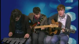 Two Door Cinema Club: acoustic 'Undercover Martyn'