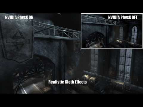 NVIDIA PhysX Technology - Enabled Vs. Disabled