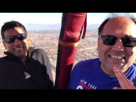 Pakistani interview at 6000 ft, Hot Air balloon ride