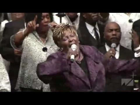 Dr. Judith McAllister & Lady Tramaine Hawkins Having Church at West Angeles COGIC 2017!