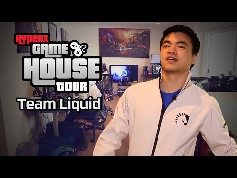 Team Liquid LoL HyperX Gaming House Tour
