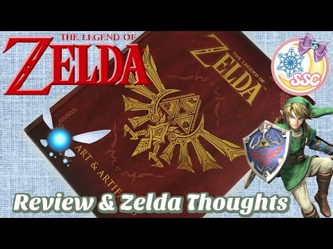 The Legend of Zelda Art & Artifacts Book Review & My Thoughts On Zelda