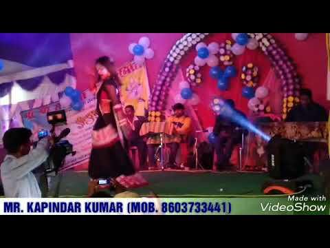 Teri Aakhya Ka Yo Kajal Mr Jatt Com Stage Dance Editing Video By Kapindar Kumar Youtube