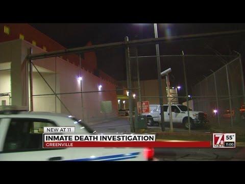 Death Investigation At Greenville Co. Jail