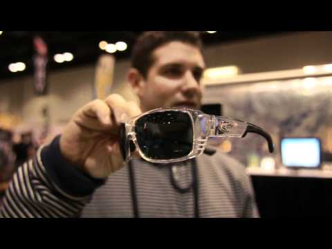 cff9c2aaca76 New 2012 Costa Del Mar Sunglasses, Surf Expo 2012 Orlando, Double Haul,  Tippet and clear frames - YouTube