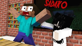 Monster School : SADAKO HORROR GAME Challenge - Minecraft Animation