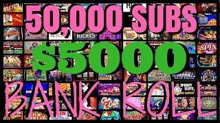 💯🔴 LIVE 💰 HIGH LIMIT Casino 💰 ✦ 50,000 Subscriber Celebration✦ Slot Machine Pokies at Seneca thumbnail