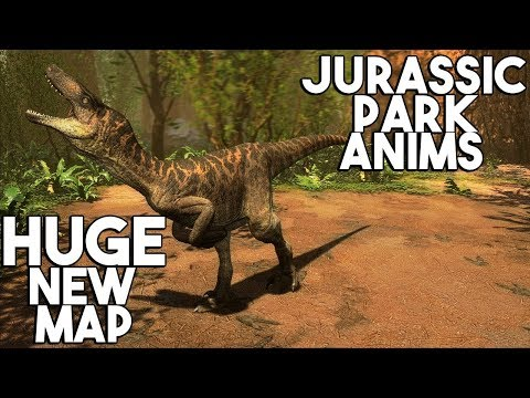 The Isle - NEW JURASSIC PARK UTAH ANIMATIONS IN GAME, NEW OFFICIAL MAP SNEAK PEEK! - Gameplay