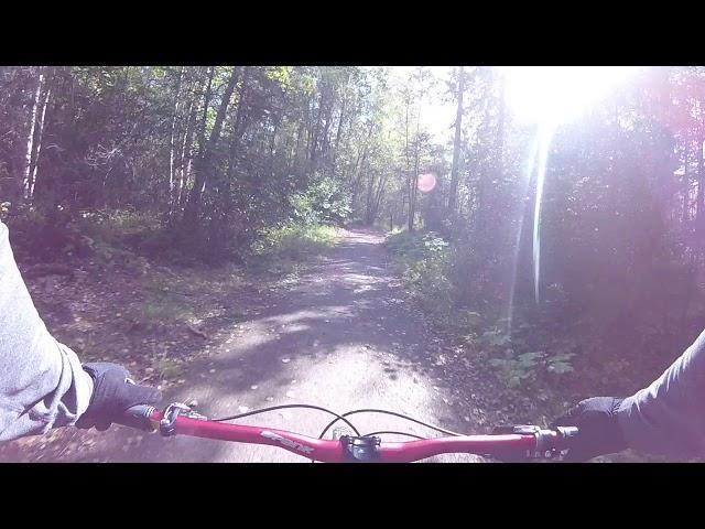 Campbell airstrip bike trail 1
