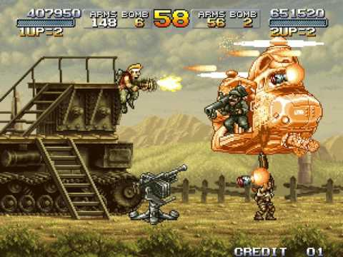 [TAS] Arcade Metal Slug 3 by zk547 in 24:27.8