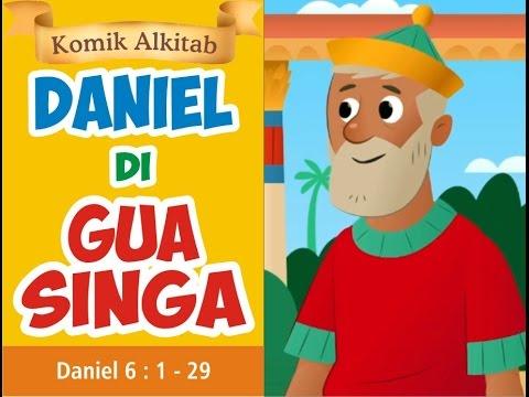 Daniel Di Gua Singa Slide Komik Cerita Alkitab Anak Sekolah Minggu Youtube