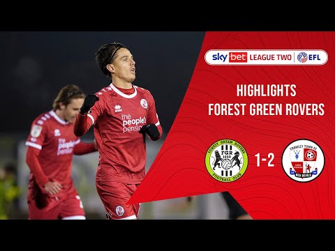 Forest Green Crawley Town Goals And Highlights
