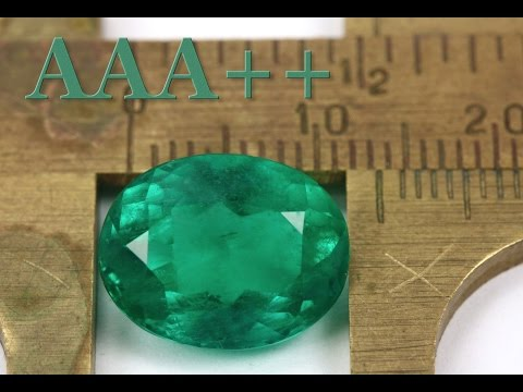Grade AAA++ Dark Green Colombian Emerald Investment Oval Cut Loose Gemstone 6.34