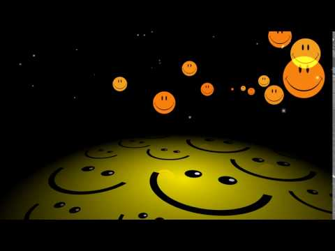 HD Happy Face Background Animation