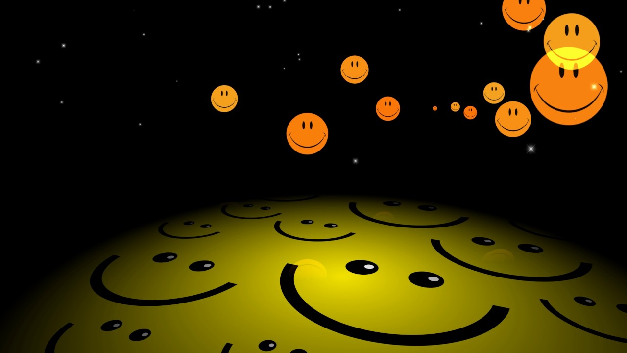hd happy face background animation youtube