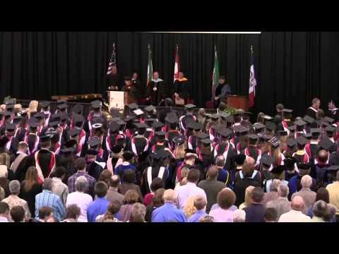 Central College Iowa Graduation Commencement 2011(2/2)