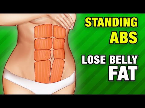 Standing ABS Workout: Lose Belly Fat At Home