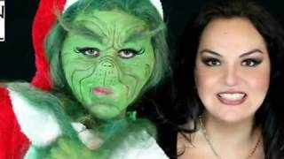 Grinch make up
