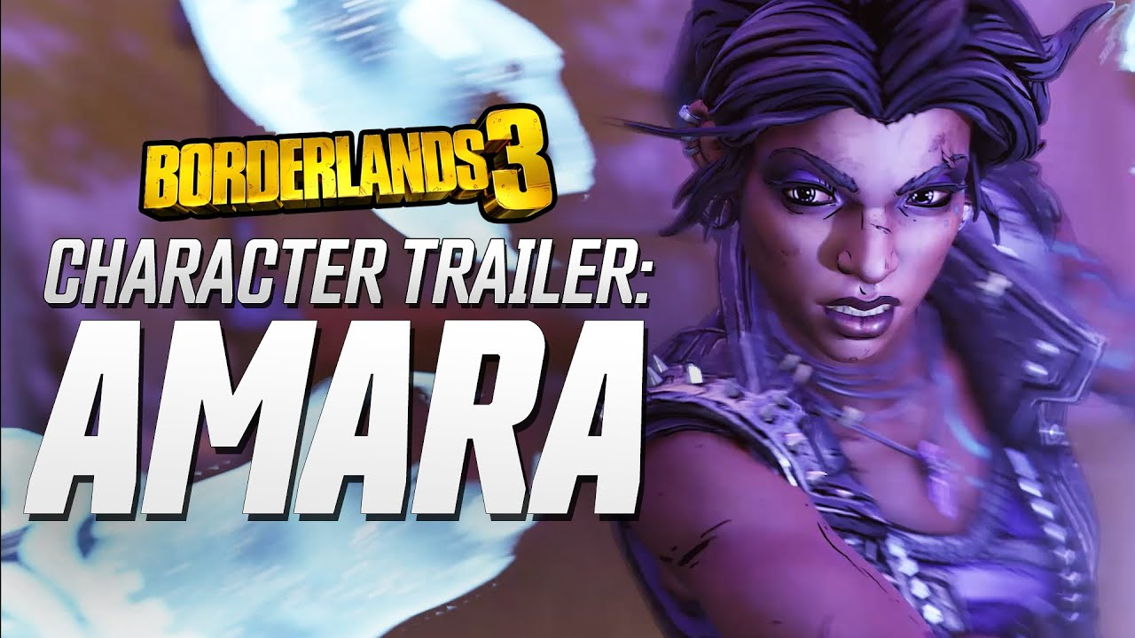 Borderlands 3 - Amara Character Trailer: