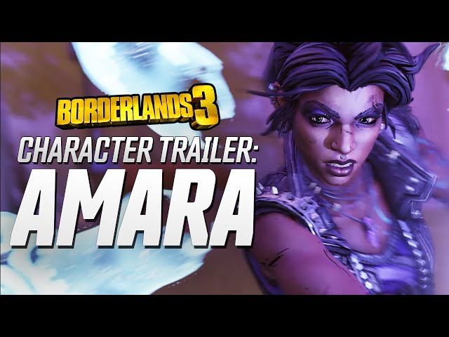 Borderlands 3 - Amara Character Trailer: Looking for a Fight