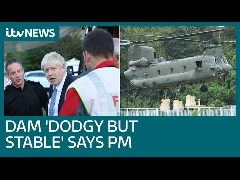 Dam 'dodgy but stable', says PM, as residents to return briefly | ITV News
