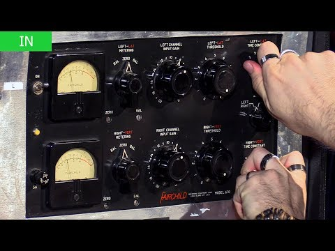 The Fairchild 670 Compressor In Action