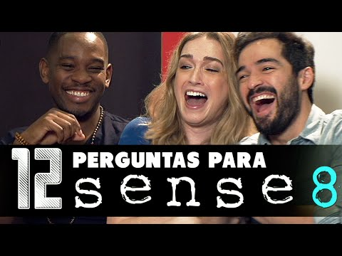 12 questions to SENSE 8 Alfonso Herrera, Jamie Clayton and Aml Ameen